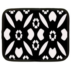 Abstract Background Pattern Netbook Case (xxl)