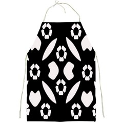 Abstract Background Pattern Full Print Aprons