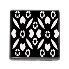 Abstract Background Pattern Memory Card Reader (Square)