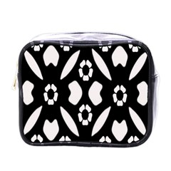 Abstract Background Pattern Mini Toiletries Bags