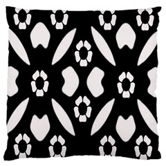 Abstract Background Pattern Large Cushion Case (One Side)