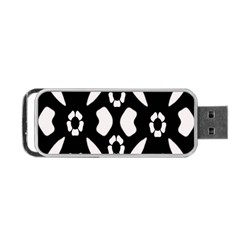 Abstract Background Pattern Portable USB Flash (Two Sides)