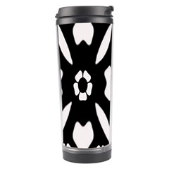 Abstract Background Pattern Travel Tumbler