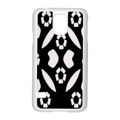 Abstract Background Pattern Samsung Galaxy S5 Case (White)