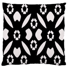 Abstract Background Pattern Large Flano Cushion Case (one Side)