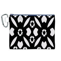 Abstract Background Pattern Canvas Cosmetic Bag (XL)