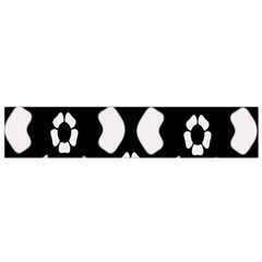 Abstract Background Pattern Flano Scarf (Small)