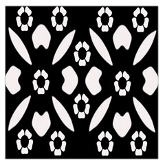 Abstract Background Pattern Large Satin Scarf (Square)