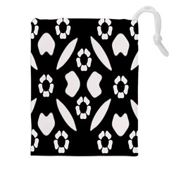 Abstract Background Pattern Drawstring Pouches (xxl)