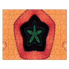 Fractal Flower Rectangular Jigsaw Puzzl