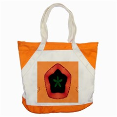 Fractal Flower Accent Tote Bag