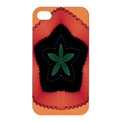 Fractal Flower Apple iPhone 4/4S Hardshell Case