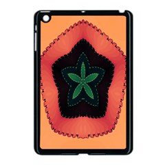 Fractal Flower Apple iPad Mini Case (Black)