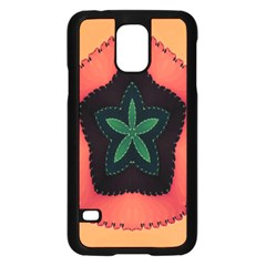 Fractal Flower Samsung Galaxy S5 Case (Black)