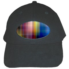 Colorful Abstract Background Black Cap