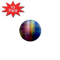 Colorful Abstract Background 1  Mini Magnet (10 Pack)