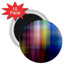 Colorful Abstract Background 2.25  Magnets (10 pack)