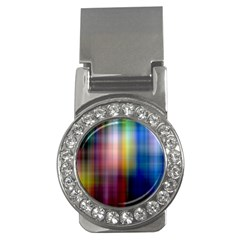 Colorful Abstract Background Money Clips (CZ)