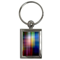 Colorful Abstract Background Key Chains (rectangle)