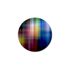 Colorful Abstract Background Golf Ball Marker