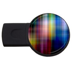 Colorful Abstract Background Usb Flash Drive Round (2 Gb)