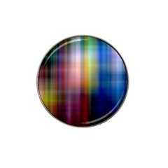 Colorful Abstract Background Hat Clip Ball Marker (10 Pack)