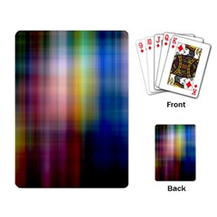 Colorful Abstract Background Playing Card