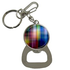Colorful Abstract Background Button Necklaces