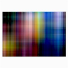 Colorful Abstract Background Large Glasses Cloth (2 Side)