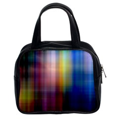 Colorful Abstract Background Classic Handbags (2 Sides)