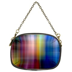 Colorful Abstract Background Chain Purses (one Side)