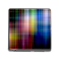 Colorful Abstract Background Memory Card Reader (Square)
