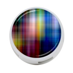 Colorful Abstract Background 4-Port USB Hub (One Side)