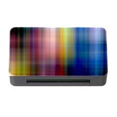 Colorful Abstract Background Memory Card Reader With Cf