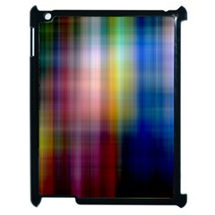 Colorful Abstract Background Apple Ipad 2 Case (black)
