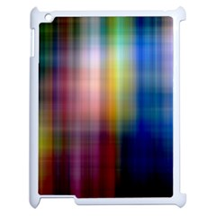 Colorful Abstract Background Apple iPad 2 Case (White)