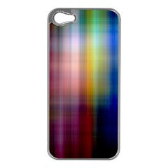 Colorful Abstract Background Apple iPhone 5 Case (Silver)