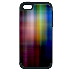 Colorful Abstract Background Apple iPhone 5 Hardshell Case (PC+Silicone)