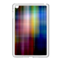 Colorful Abstract Background Apple iPad Mini Case (White)