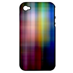 Colorful Abstract Background Apple Iphone 4/4s Hardshell Case (pc+silicone)