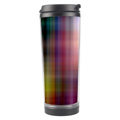 Colorful Abstract Background Travel Tumbler