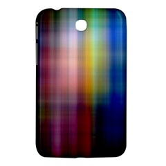 Colorful Abstract Background Samsung Galaxy Tab 3 (7 ) P3200 Hardshell Case