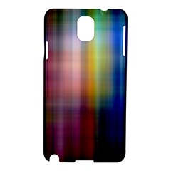 Colorful Abstract Background Samsung Galaxy Note 3 N9005 Hardshell Case