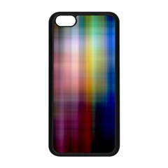 Colorful Abstract Background Apple iPhone 5C Seamless Case (Black)
