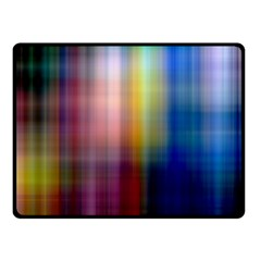 Colorful Abstract Background Double Sided Fleece Blanket (Small)