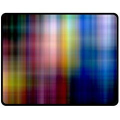 Colorful Abstract Background Double Sided Fleece Blanket (Medium)