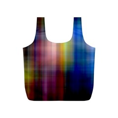 Colorful Abstract Background Full Print Recycle Bags (S)