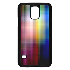 Colorful Abstract Background Samsung Galaxy S5 Case (Black)