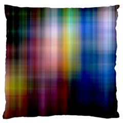 Colorful Abstract Background Large Flano Cushion Case (One Side)