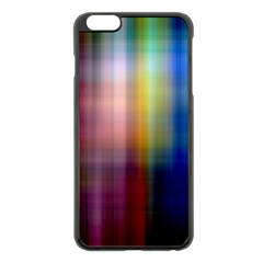 Colorful Abstract Background Apple iPhone 6 Plus/6S Plus Black Enamel Case